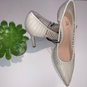 Zara Shoes - ZARA Caged Strappy High-heels